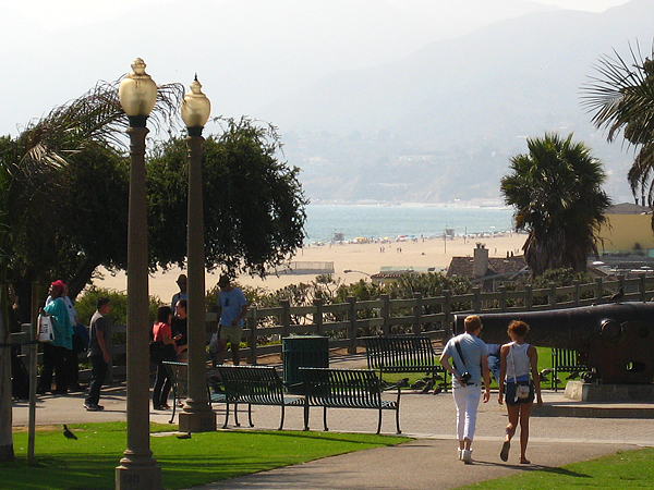 The Lobster, Santa Monica Pier - View