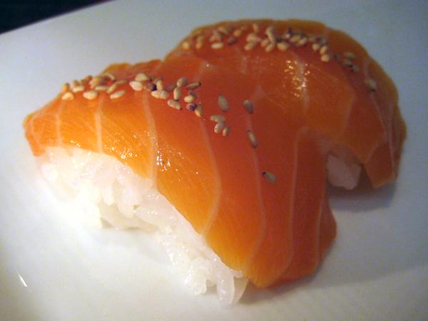 sugarFISH by Nozawa, Brentwood - salmon sushi