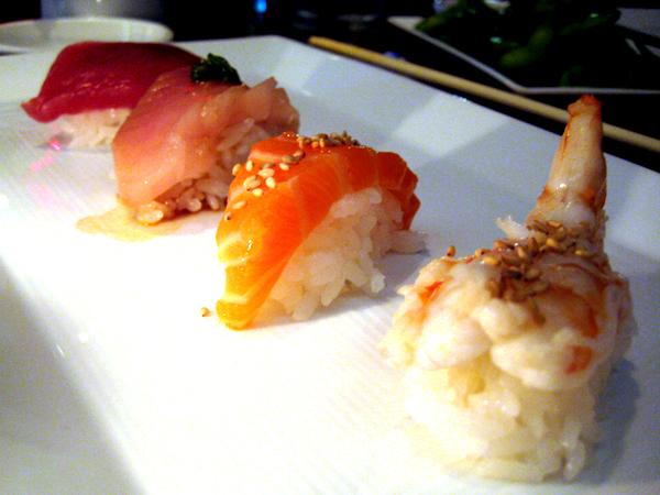 sugarFISH by Nozawa, Brentwood - sushi plate