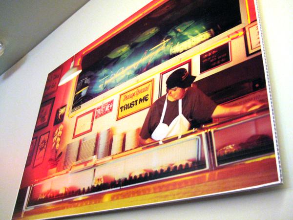 sugarFISH by Nozawa, Brentwood - wall hanging