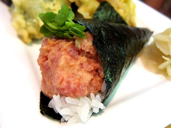 Taiko, Brentwood - Spicy Tuna Handroll