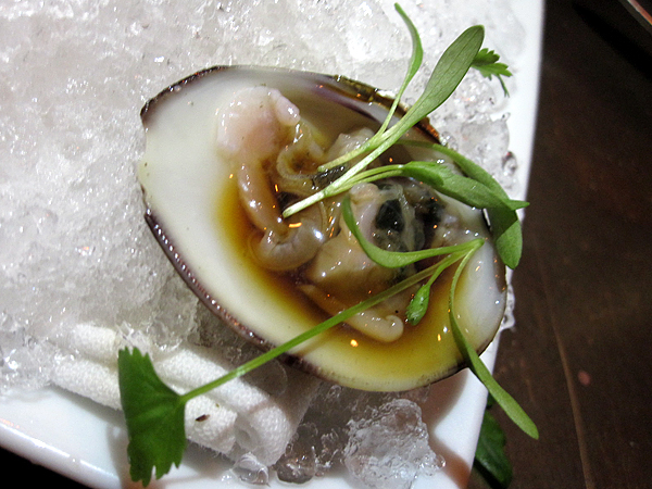 Vinoteque - Littleneck Clam on Halfshell with Cilantro