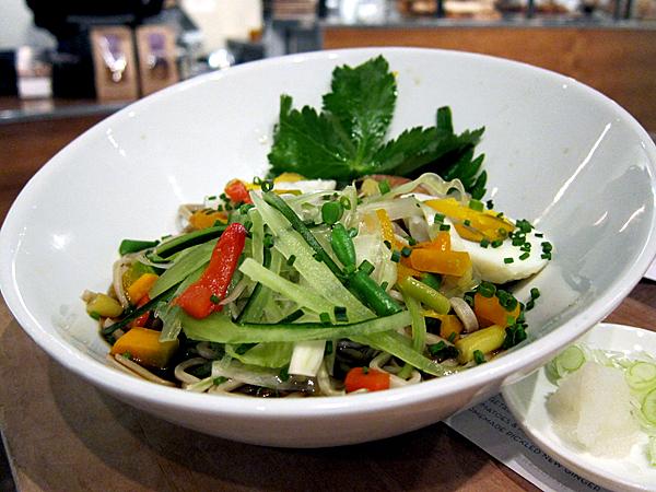 Soba PopUp, Breadbar - Vegetable Soba