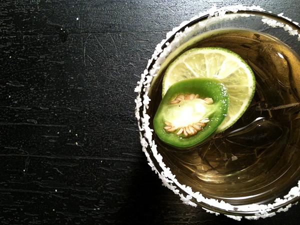 Sarah's Jalapeno Margarita