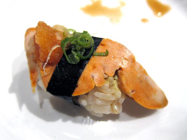 Jinpachi - omakase, ankimo (monkfish liver)