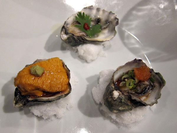 Jinpachi - Omakase, Kumamoto Oysters