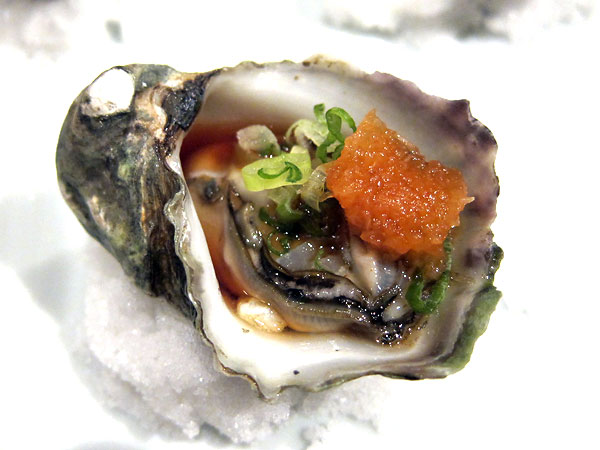 Jinpachi - Omakase, Kumamoto Oyster with Ponzu