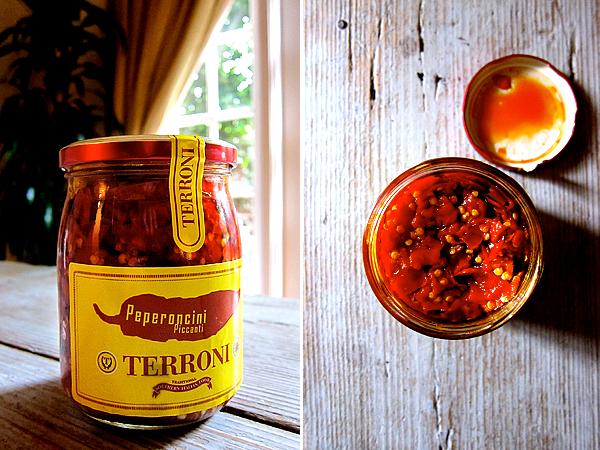 peperoncini piccanti form terroni restaurant