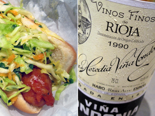 Slaw Dogs: The Original paired with LdH