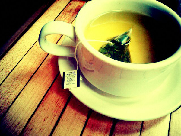 Green Tea New Years Resolution