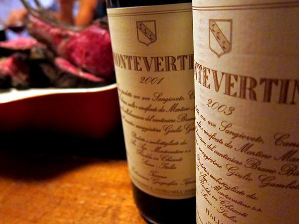 Montevertine - Wine bottles