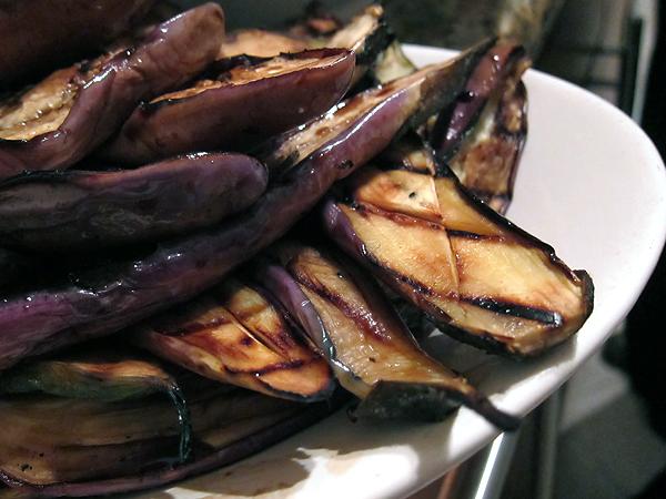 Montevertine Dinner - Grilled Eggplant
