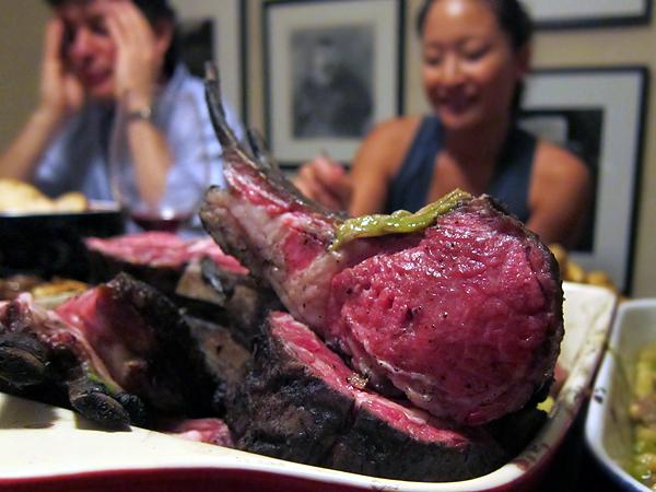 Montevertine Dinner, Lamb Chop