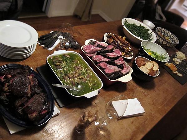 Montevertine - Dinner Table