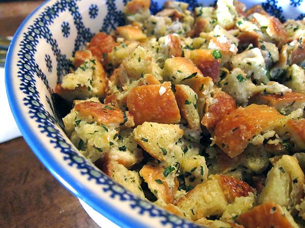 Montevertine Dinner - Bread Salad