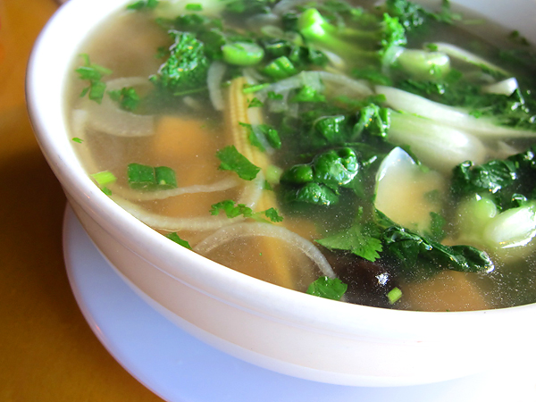 Pho Citi, West Hollywood - Tofu Pho