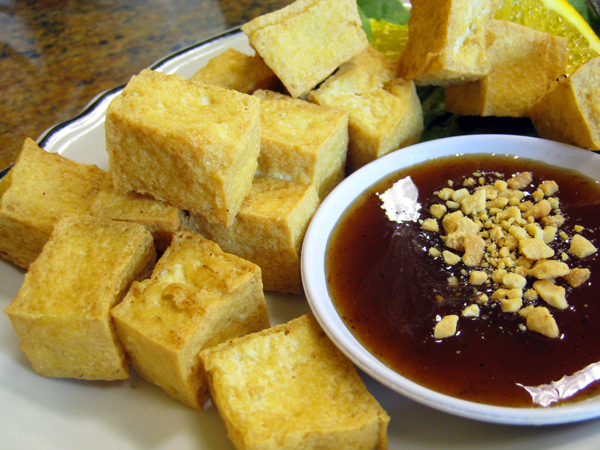 Renu Nakorn Thai, Norwalk - Fried Tofu