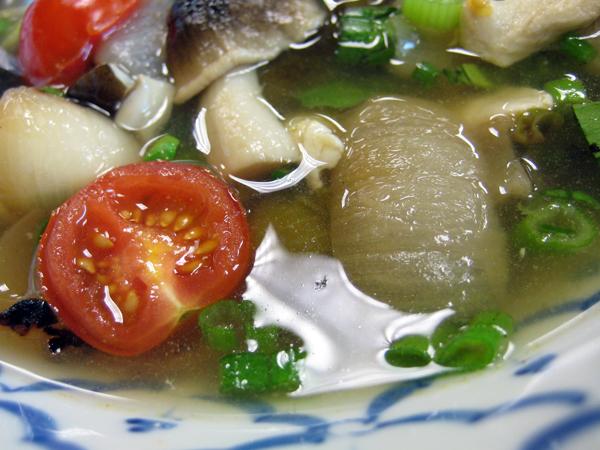 Renu Nakorn Thai restaurant, norwalk - tom kah kai chicken soup