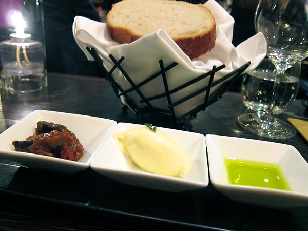 Scarpetta, Beverly Hills - Caponata, Mascarpone Butter, Olive Oil