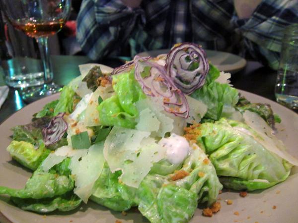 Son of a Gun Restaurant - Lettuce Salad
