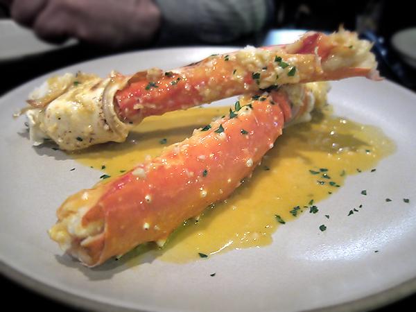 Son of a Gun - King Crab Legs in Tabasco Butter