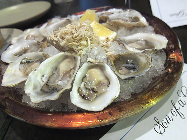 Son of a Gun - Kusshi Oysters