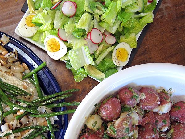 Jordan Toft Spring Grill Menu - Salads