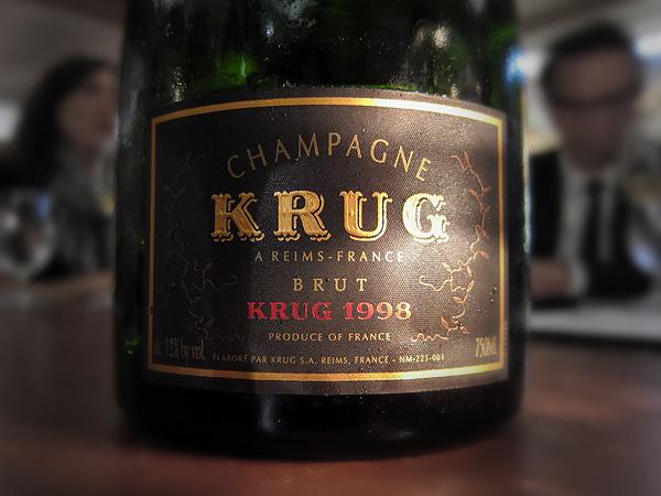 Krug Champagne 1998