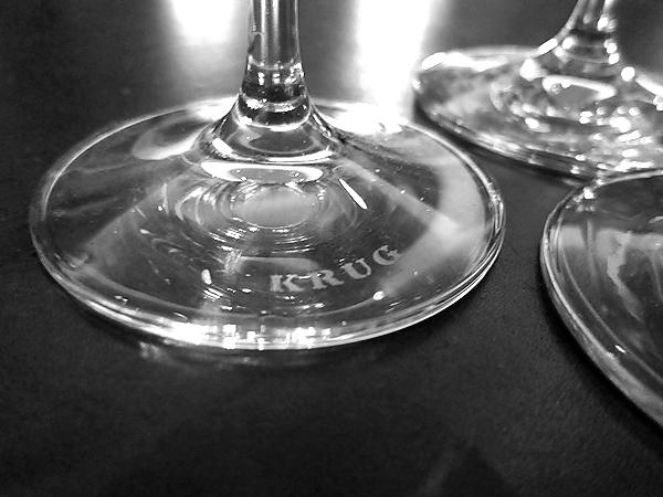 Krug Champagne glasses