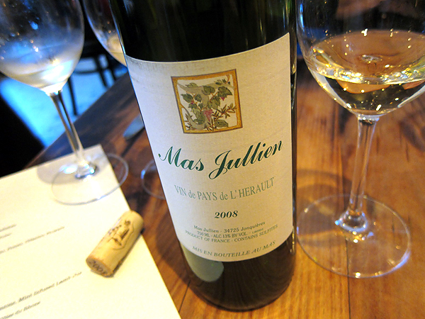 Mas Jullien Blanc 2008