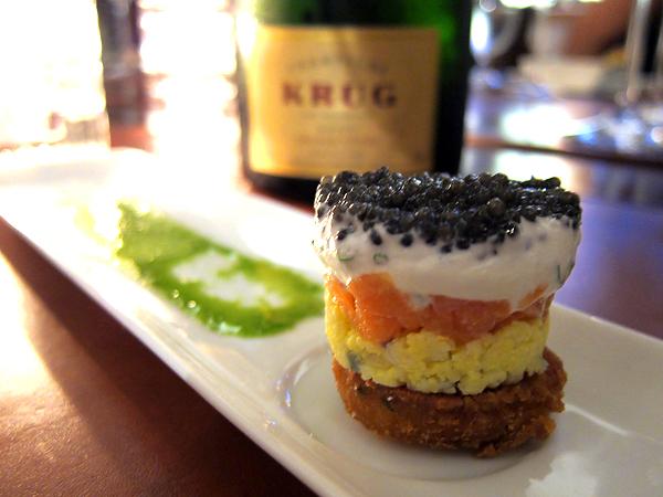 xiv restaurant, west hollywood - Caviar Parfait