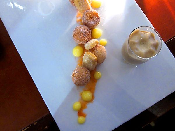 xiv restaurant, west hollywood - doughnuts