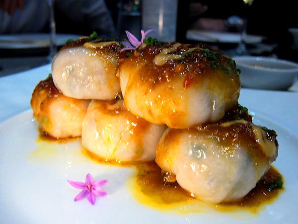 WP24, downtown LA - Crab Crystal Dumplings