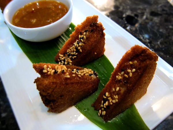 WP24, downtown LA - Shrimp Toast
