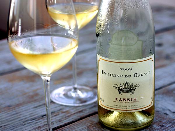 Domaine du Bagnol cassis Blanc white wine