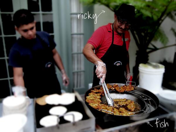 Rickys Fish Tacos - Ricky