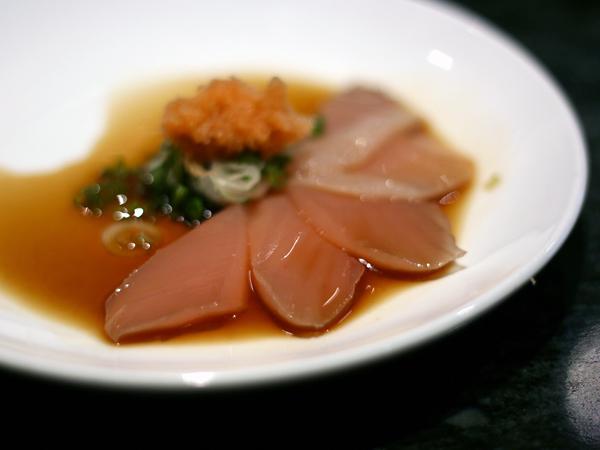 Sushi Park: albacore sashimi