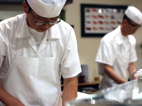Sushi Park: chef