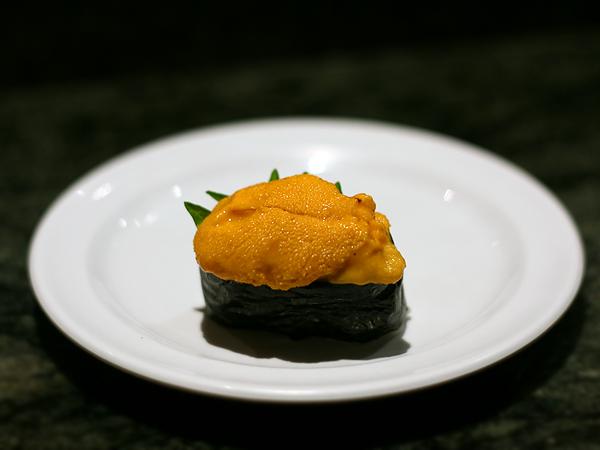 Sushi Park: sea urchin (uni)