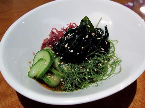Yabu Restaurant, Seaweed Sunomono