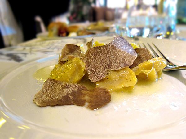 Bel Air Hotel - Apple Celery Ravioli with White Truffle