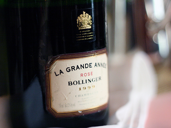 Bollinger La Grande Annee Rose Champagne