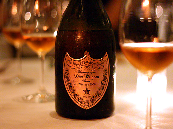 Dom Pérignon Brut Rosé Champagne 2000