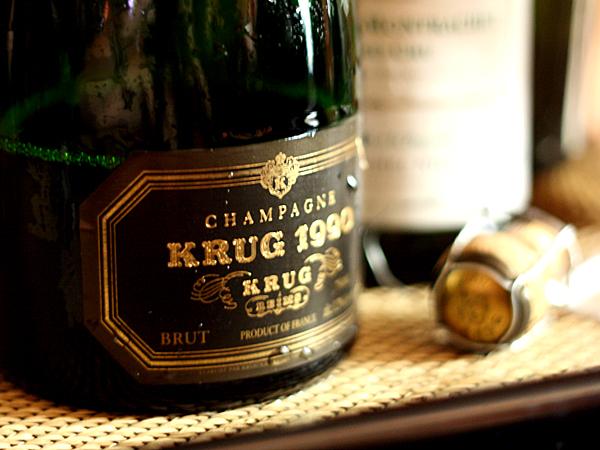 Krug Champagne 1990
