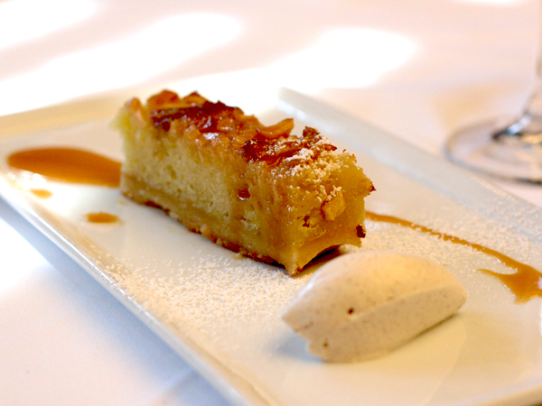 Marche Moderne, Costa Mesa - Apple Bread Pudding