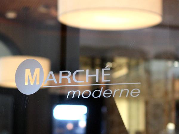Marche Moderne, Costa Mesa - door