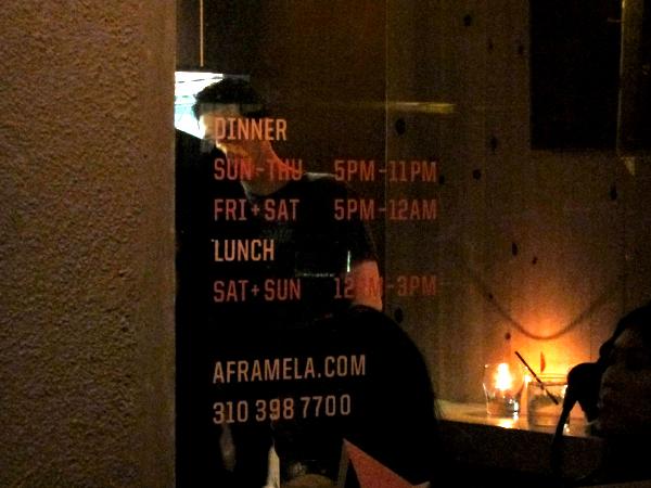 A-Frame restaurant