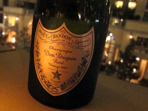 Dom Perignon Rose Champagne 1992