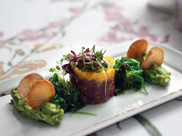 Curried Tuna Tartare Recipe — Dishmaps