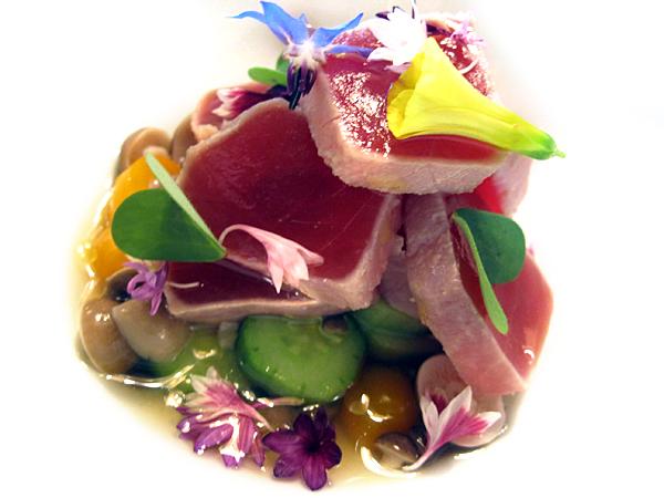 Providence restaurant, LA : tuna